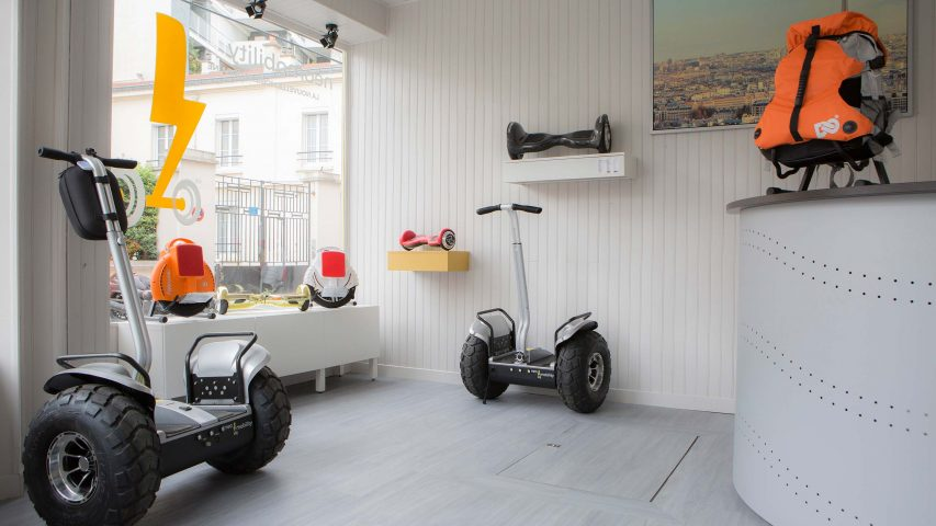 boutique gyropode, hoverboard, gyroroue paris